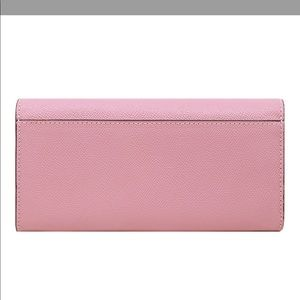 Coach Bags - COACH SLIM ENVELOPE WALLET WITH BOW TURN-LOCK
